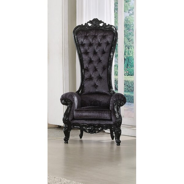 Au0026J Homes Studio Raven Royal Chesterfield Chair U0026 Reviews | Wayfair