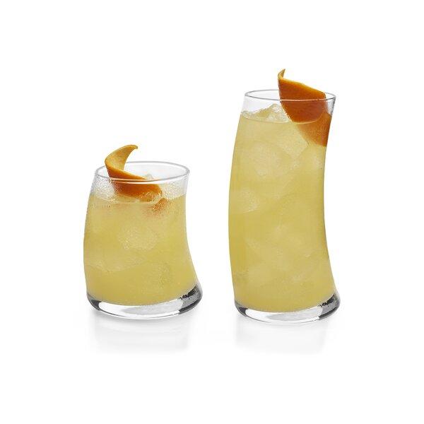 Swerve 16 Piece Drinkware Glass Set by Libbey