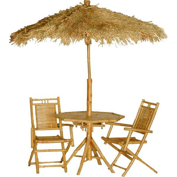 Karaman 4 Piece Dining Table Set by Bay Isle Home Bay Isle Home