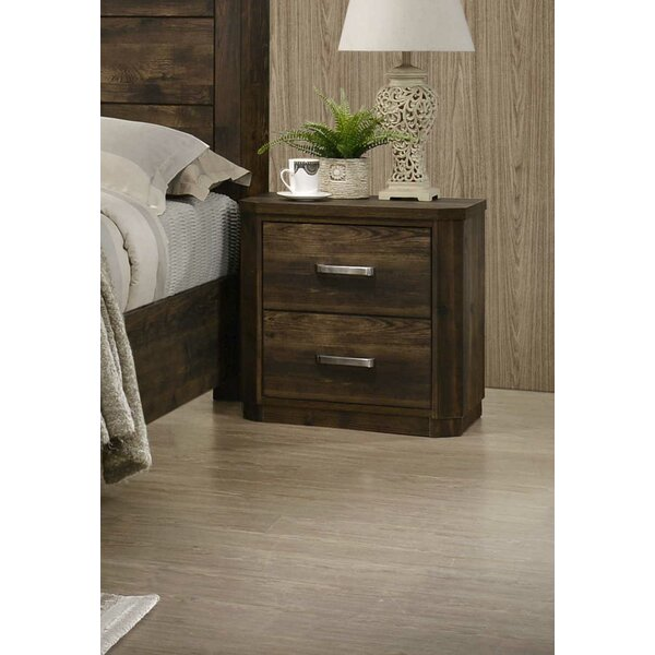 Anderson 2 Drawer Nightstand by Cozzy Design Cozzy Design