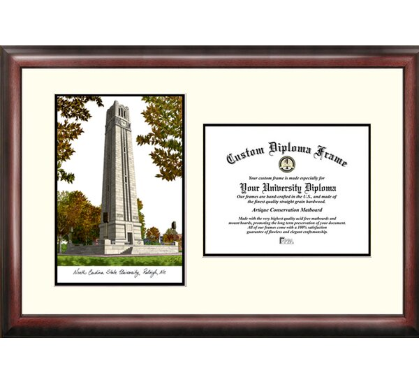 NCAA North Carolina State University Scholar Diploma Picture Frame by Campus Images