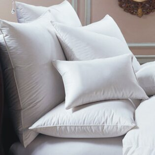Bernina Down and Feathers Pillow by Downright