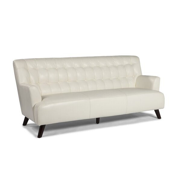 New York Leather Sofa by Lazzaro Leather