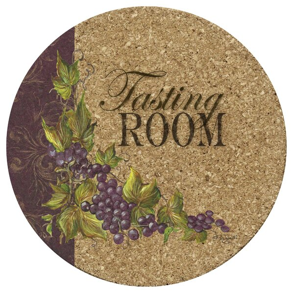 Tasting Room Cork Trivet by Thirstystone