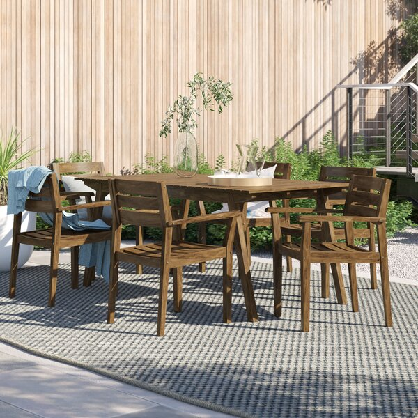 Brien 7 Piece Dining Set by Foundstone