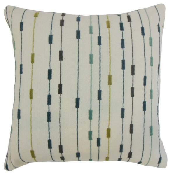 Jaylin Stripes Throw Pillow Cover by Langley Street