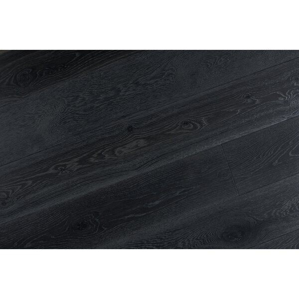 Abdi 7-1/2 Engineered Oak Hardwood Flooring in Black by Albero Valley
