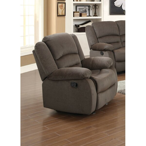 Hulsey Manual Recliner Red Barrel Studio USPF1123