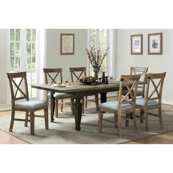 Kensal 7 Piece Extendable Dining Set by Gracie Oaks