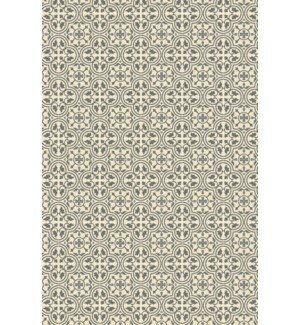 Davion Quad European Design Gray/White Indoor/Outdoor Area Rug by Charlton Home
