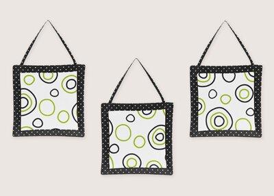 3 Piece Spirodot Wall Hanging Set by Sweet Jojo Designs