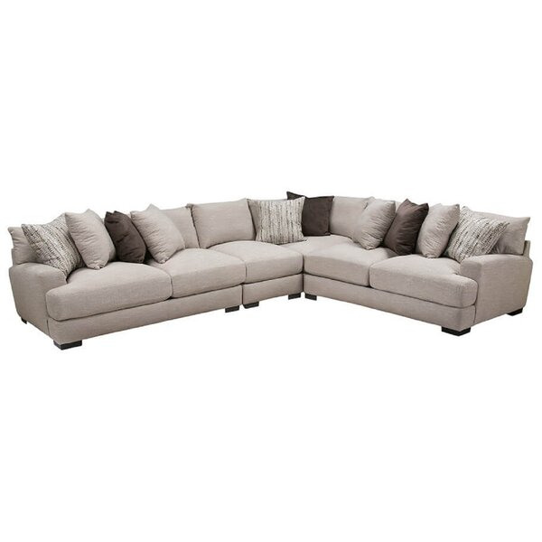 Woodberry Seating Reversible Sectional by Gracie Oaks