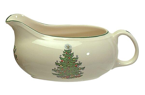 Original Christmas Tree Traditional Gravy Boat by
