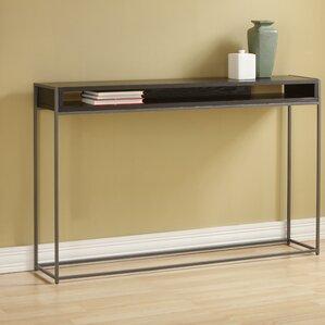 source mirrored console u0026 sofa tables you ll love wayfair
