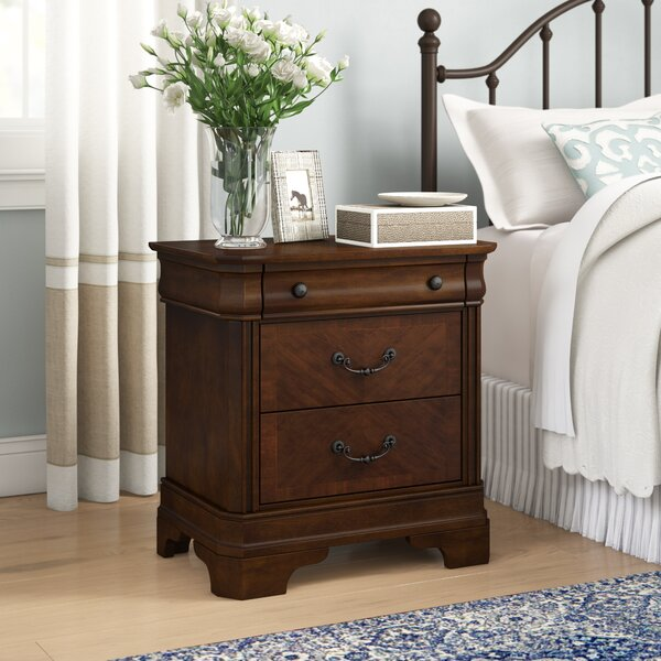 Johnston 3 Drawer Nightstand by Birch Lane™ Heritage