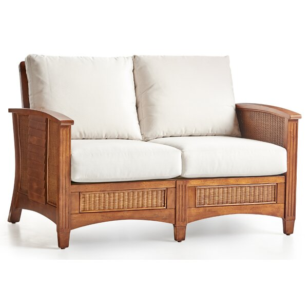 Cool Collection Crossroad Loveseat by South Sea Rattan by South Sea Rattan