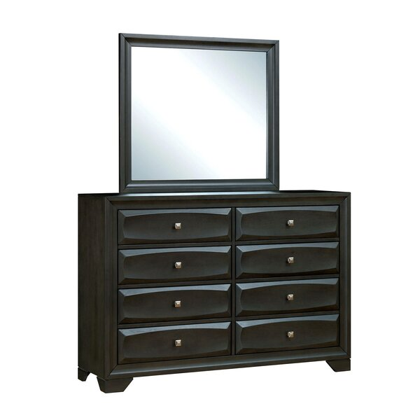 Jordin 8 Drawer Double Dresser by Latitude Run