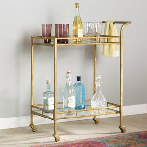 Adela Bar Cart by Bungalow Rose