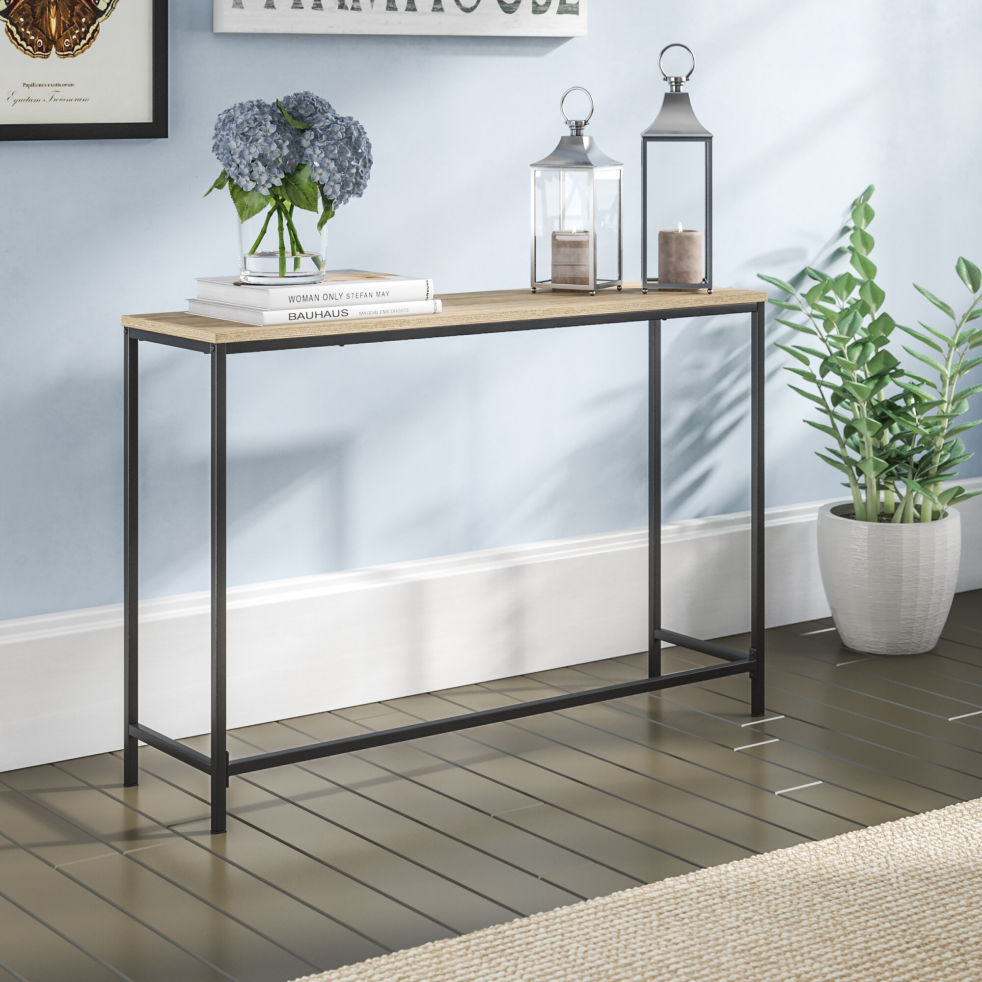 Picture of: Industrial Console Tables You Ll Love In 2020 Wayfair