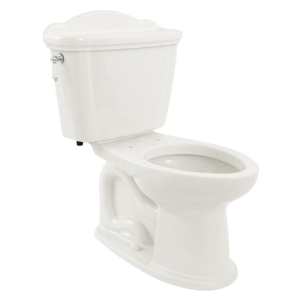 Eco Whitney 1.28 GPF Elongated Two-Piece Toilet (Seat Not Included) by Toto