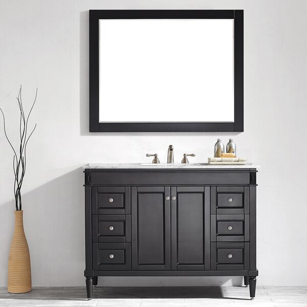 Millfield 48 Single Vanity Set with Mirror by Andover Mills