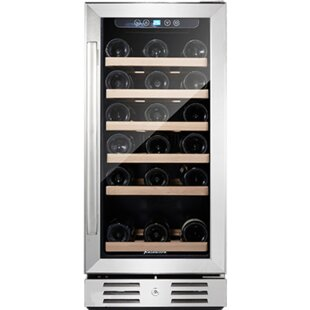 30 Bottle Single Zone Built-in Wine Cooler  sc 1 st  Wayfair & Wine Coolers u0026 Refrigerators Youu0027ll Love | Wayfair