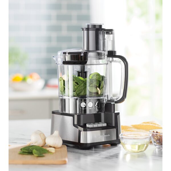 Stack & Snap 12-Cup Food Processor by Hamilton Beach