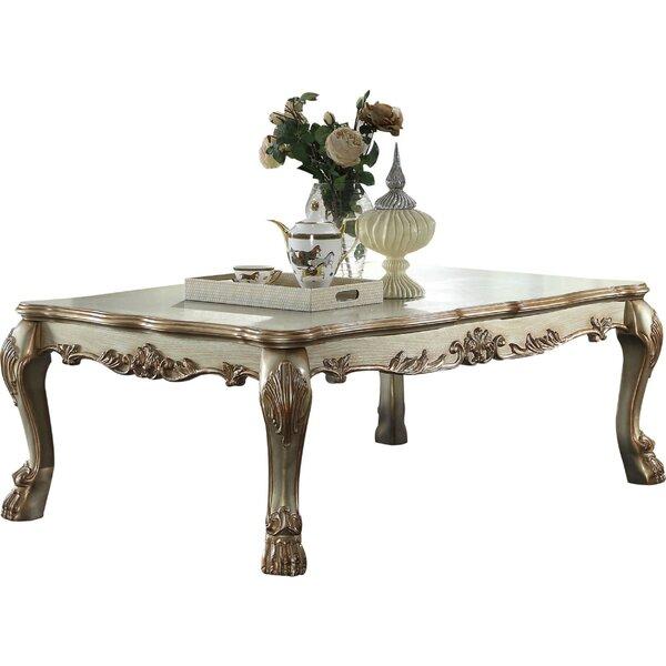 Fatima Wood Coffee Table
