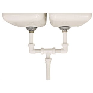 """Insta-Plumb™ Double Bowl Sink 16"""" Centre Outlet Waste 1½"""" for Kitchen"""