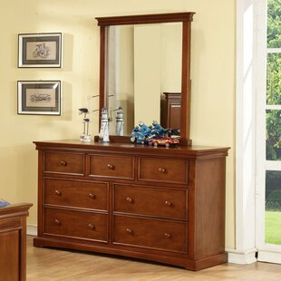 Best Choices Vernell 7 Drawer Double Dresser ByHarriet Bee