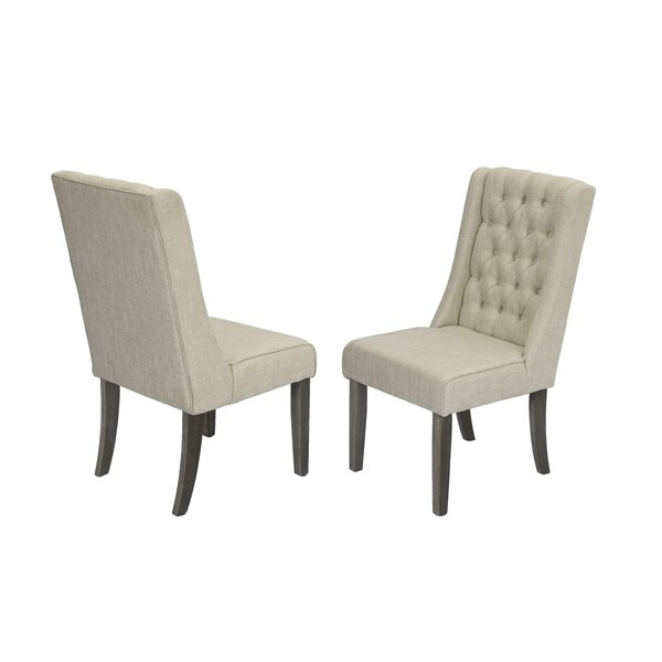 Dions Dining Side Upholstered Dining Chair (Set of 2) by Gracie Oaks