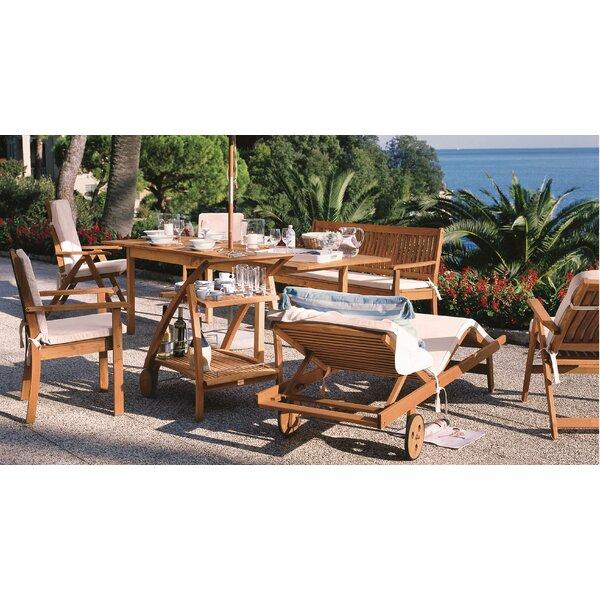 Riviera 7 Piece Dining Set by Haste Garden