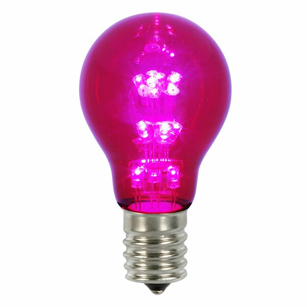 16W Pink E26 LED Light Bulb by Vickerman