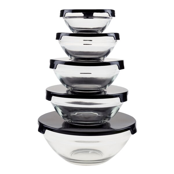 5 Container Food Storage Set by Chef Buddy