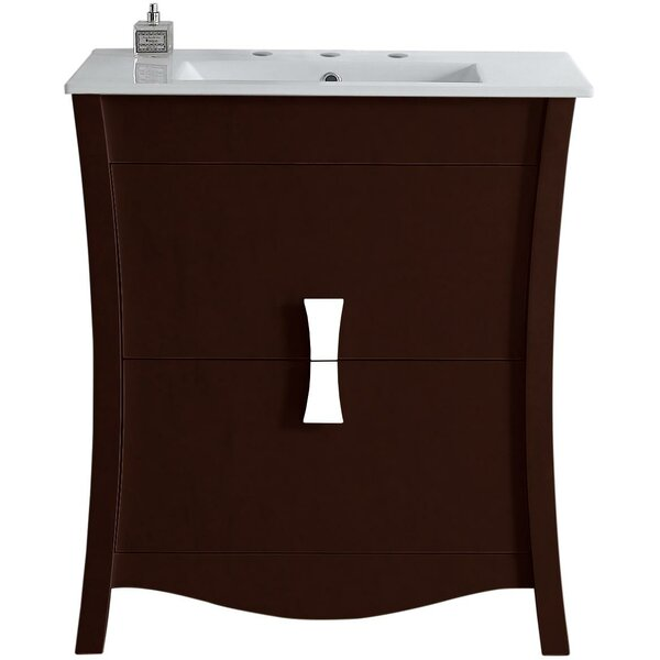 Bow 29 Single Bathroom Vanity Set by American Imaginations
