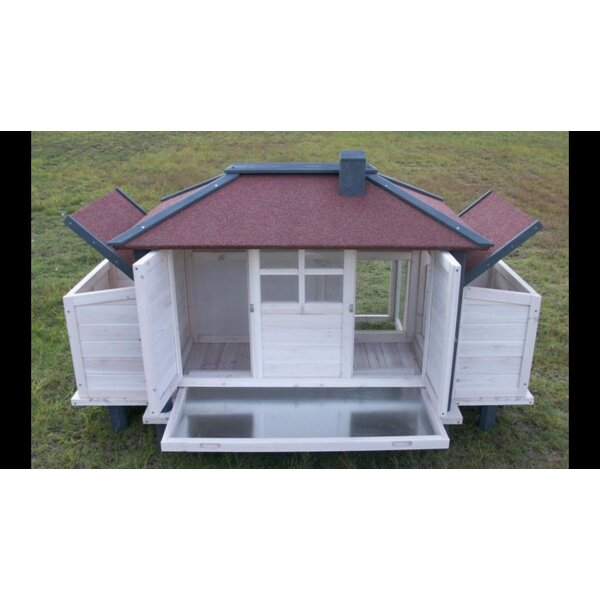Moxie Chicken Coop with Lockable Nesting Box and Storage by Tucker Murphy Pet