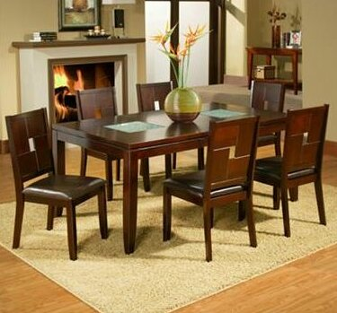 Lakeport Extension Dining Table by Alpine Furniture