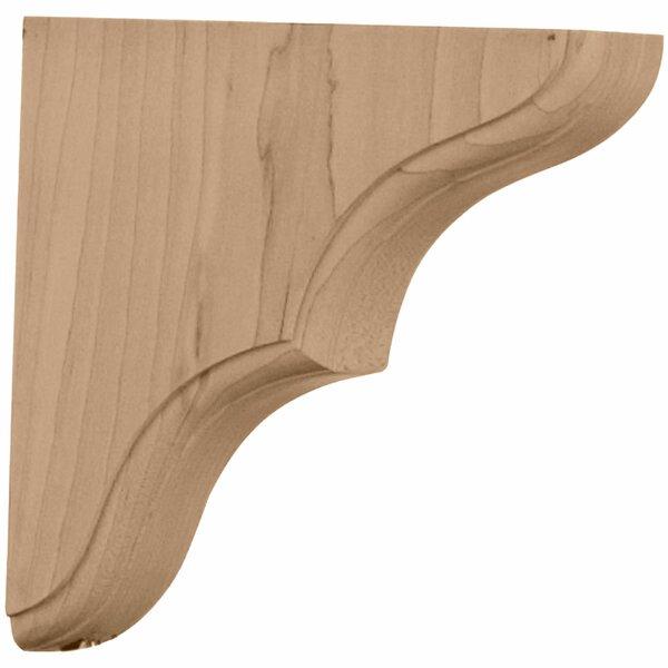 Stratford 5 1/2H x 1 3/4W x 5 1/2D Wood Bracket in Red Oak by Ekena Millwork