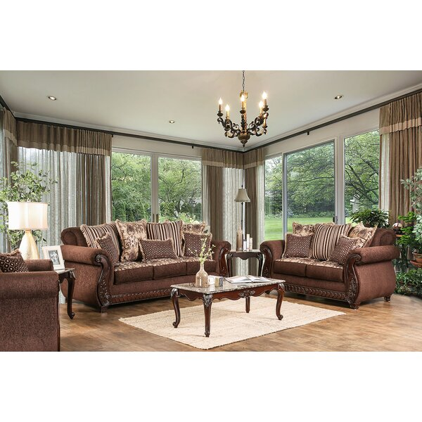 Chateau Configurable Living Room Set by Fleur De Lis Living