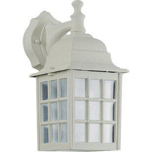 Price comparison Dukinfield 1-Light Outdoor Wall Lantern By Charlton Home