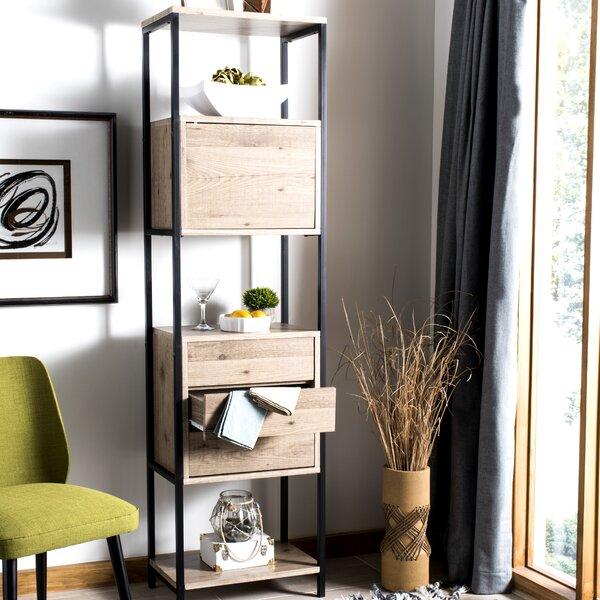 Willene Mid Century Standard Bookcase