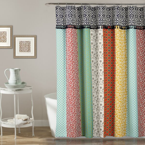 Lorelai Shower Curtain by Bungalow Rose