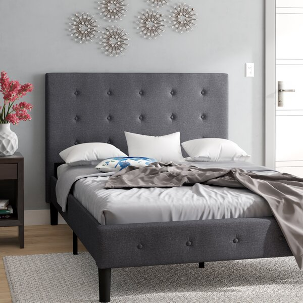 Lind Upholstered Platform Bed by Ebern Designs