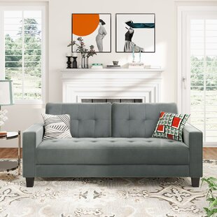 3 Piece Morden Style Couch Furniture Upholstered Living Room Set by Latitude Run®