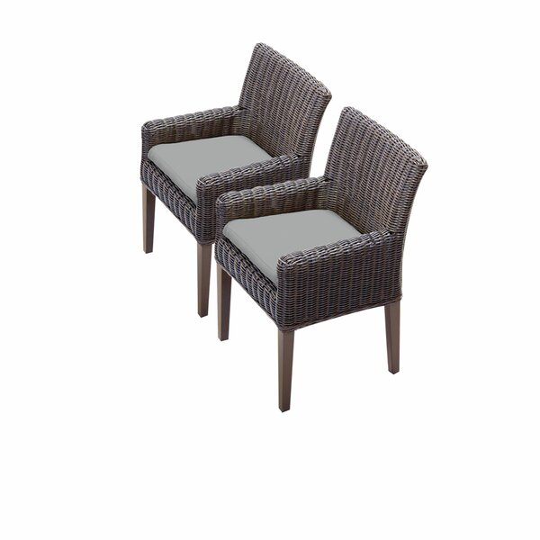 Fairfield Patio Dining Chair with Cushion (Set of 2) by Sol 72 Outdoor Sol 72 Outdoor