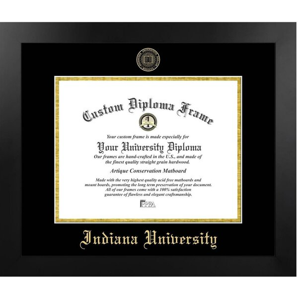 The Contemporary Indiana University Picture Frame by Diploma Frame Deals