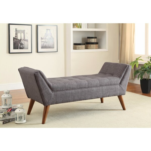 Durso Upholstered Storage Bench by George Oliver