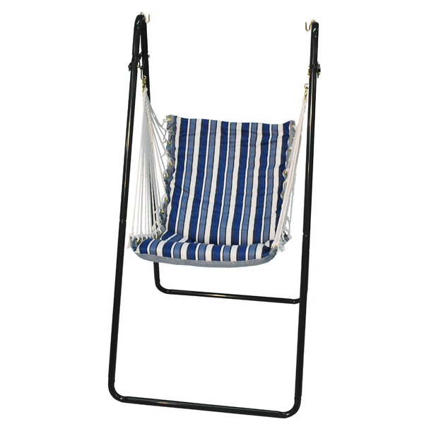 Polyester Chair Hammock with Stand by Algoma Net Company Algoma Net Company