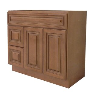 Best Deals 42  Single Bathroom Vanity Base Only ByNGY Stone & Cabinet