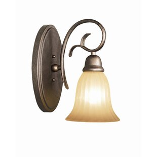 Compare Clifton 1-Light Bath Sconce By Woodbridge Lighting